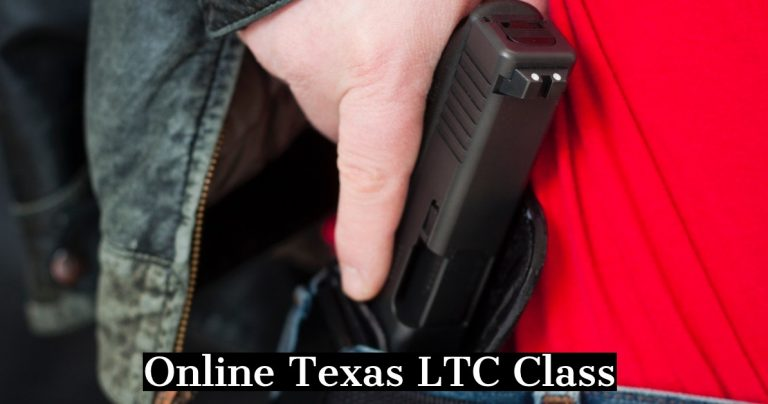 Online Texas license to carry class